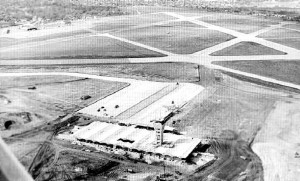 Robert Mueller Airport in 1960